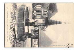CPA _ Jarnages _ Fontaine Et Place De La Halle _ Etat Superbe - France