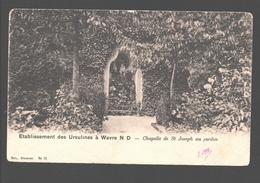 Onze-Lieve-Vrouw-Waver - Etablissement Des Ursulines à Wavre N. D. - Chapelle De St. Joseph Au Jardin - Enkele Rug - Sint-Katelijne-Waver