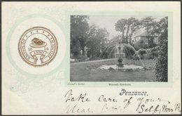 Morrab Gardens, Penzance, Cornwall, 1904 - Argall's Postcard - Other