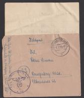 Königsberg Ostpreussen Feldpost 1944, Briefstempel 3. Kp, Abs. Wildenhoff, Mit Inhalt - Briefe U. Dokumente