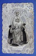 IMAGE PIEUSE  CANIVET  19 Eme    SANTINI      ED. BOUASSE LEBEL      NOTRE DAME DE LA SALETTE - Images Religieuses