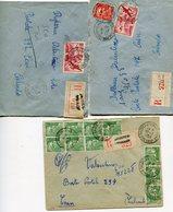 PYRENEES ORIENTALES  De CAUDIES DE FENOUILLEDES  3      Env. Recom. De  1949  1950 Avec Dateur   A 6 - Storia Postale