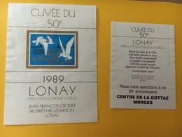 8748 - Cuvée Du 50e Les Mouettes Chants Danses Suisse Lonay 1989 - Musique