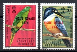 NOUVELLES HEBRIDES - YT N° 386-387 - Neuf ** - MNH - Cote: 7,50 € - Légende Française