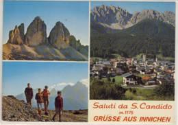 SALUTI DA SAN CANDIDO  GRÜSSE AUS INNICHEN - Italy