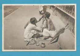 CPA Inde India Britannique Anglaise Non Circulé Métier Barbier CALCUTTA - Inde