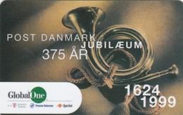 Denmark, DEN-PRE-GO-10, 150 Kr., Post Danmark Jubilaeum 1624-1999, 2 Scans.  Expiry : April.2001 - Denmark