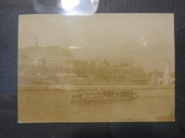 75 - Paris - Bateau Présidentiel Pont Alexandre III - Photo Originale -  1900 - B.E - - Places