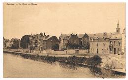 CPA Rare : NAMUR JAMBES Le Quai De Meuse, Avec Vue Sur L'ancienne église St Symphorien - Namur