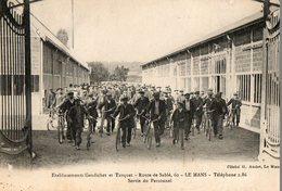 LE MANS - établissements GAUDICHET Et TURQUET, Route De Sablé, Sortie Du Personnel - Le Mans