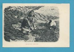 CPA Inde India Britannique Anglaise Non Circulé Métier Séchoir à Fumier - Inde