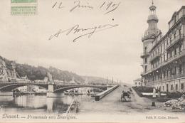Dinant Promenade Vers Bouvignes  1905 - Dinant
