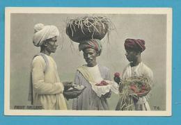CPA Inde India Britannique Anglaise Non Circulé Métier Marchands De Fruits - Inde