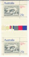 Australia 1982 MNH Scott #846 27c Sydney Harbour Bridge Gutter Pair - Nuevos