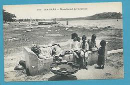 CPA Inde India Britannique Anglaise Non Circulé Métier Marchand De Graines MADRAS - Inde