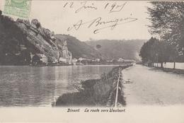 Dinant La Route Vers Waulsorl  1905 - Dinant