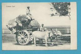 CPA Inde India Britannique Anglaise Non Circulé Métier Attelage Transport Du Coton - Inde