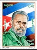 ALGERIE ALGERIA 2017 FIDEL CASTRO FIDELE FLAGS FLAG DRAPEAU CUBA MNH ** - Célébrités