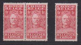 Belgisch Congo 1928 Henry Morton Stanley 1fr 3x ** Mnh (40125B) - Belgisch-Kongo