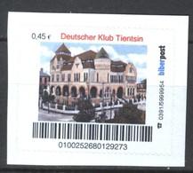Biber Post Deutscher Klub Tientsin (45)  G456 - BRD
