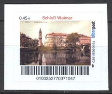 Biber Post Schloß Weimar (45)  G457 - BRD