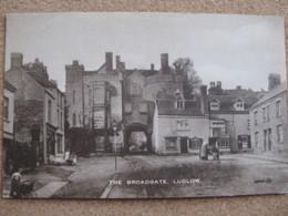 The Broadgate, Ludlow, Shropshire - C1921 - Shropshire