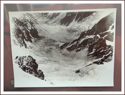 Photo Aerienne Ancienne MASSIF DU MONT BLANC- 17 X 23 Cm -  Photo AERO PHOTO ( Tampon) - Places
