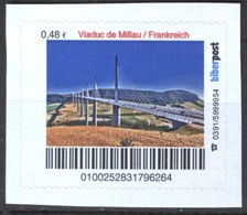 Biber Post Viaduc De Millau Frankreich (48)  G462 - BRD