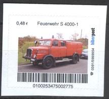 Biber Post Feuerwehr S 4000-1 (48)  G464 - BRD