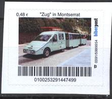 "Biber Post ""Zug"" In Montserrat (48)  G466 - BRD"