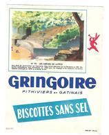 BUVARD     BISCOTTES  GRINGOIRE - Blotters