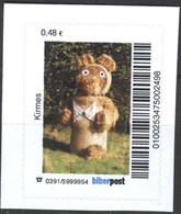 Biber Post Kirmes (Tier Aus Stroh) (48)  G469 - BRD