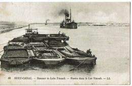 Suez Canal 88  Steamer In Lake Timsah - Unclassified