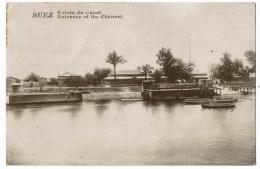 Suez Canal Entrée Du Canal - Unclassified
