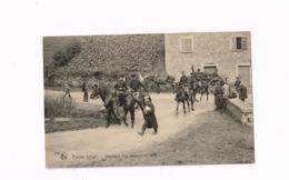 Armée Belge.Etat-Major D'un Régiment De Ligne. - Weltkrieg 1914-18