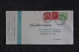 CUBA - Timbres Sur Lettre De SANTA RITA ( ORIENTE ) Vers La HABANA. - Covers & Documents