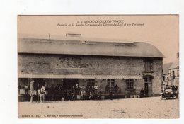 Ste Croix Grand'tonne - Laiterie De La Société Normande Des Dérivés Du Lait Et Son Personnel - 14 - - France