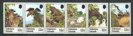 237 SALOMON 1982 - Yvert 449/54 - Oiseau Nid Oeuf - Neuf **(MNH) Sans Trace De Charniere - Salomon (Iles 1978-...)