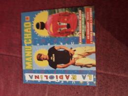 Cd Publicitaire  La Radiolina  Manu Chao - Hit-Compilations
