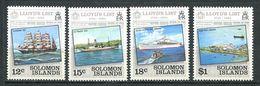 237 SALOMON 1984 - Yvert 510/13 - Bateau Lloyd - Neuf **(MNH) Sans Trace De Charniere - Salomon (Iles 1978-...)
