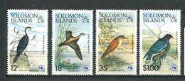 237 SALOMON 1984 - Yvert 523/26 - Oiseau - Neuf **(MNH) Sans Trace De Charniere - Salomon (Iles 1978-...)