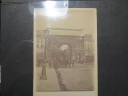 Paris  - Photo Originale - Porte De St Denis - Attelage  - B.E - - Places