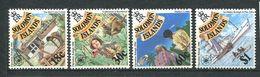 237 SALOMON 1986 - Yvert 543/46 - Construction Exploration Observation Bateau - Neuf **(MNH) Sans Trace De Charniere - Salomon (Iles 1978-...)