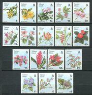 237 SALOMON 1987 - Yvert 609/25 - Fleur - Neuf **(MNH) Sans Trace De Charniere - Salomon (Iles 1978-...)