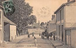 28-CHARTRES- LA RUE DU BOURG-NEUF - Chartres