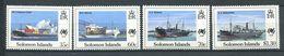 237 SALOMON 1988 - Yvert 654/57 - Bateau Paquebot Cargo Porte Conteneur - Neuf **(MNH) Sans Trace De Charniere - Salomon (Iles 1978-...)
