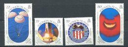 237 SALOMON 1989 - Yvert 678/81 - Apollo Amerissage Embleme - Neuf **(MNH) Sans Trace De Charniere - Salomon (Iles 1978-...)