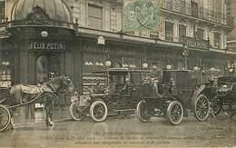 Dép 75 - Paris - Automobile - Félix Potin - 1er Mai 1906 - Voitures De Maîtres Massées Devant Attendant Leur Chargement - Autres