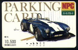 B19 - Japan NPC - Parking Card - AC Cobra - Eintrittskarten
