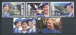 237 SALOMON 1992 - Yvert 734/38 - Reine Elizabeth - Neuf **(MNH) Sans Trace De Charniere - Salomon (Iles 1978-...)